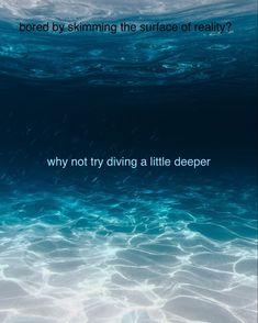 Diving, Surface, Deep, Scuba Diving
