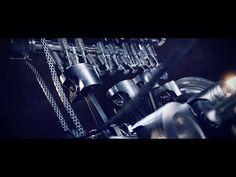 Mercedes AMG Engine Animation