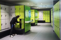 Lockers for Leisure - changing room furniture designed, manufactured and installed by Craftsman Lockers Sports Locker, Gym Lockers, Room Furniture Design, Changing Room, Vanity Units, Bespoke, Craftsman, Rooms, Taylormade