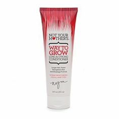 When you're not ready to switch up the hair - switch up the product - trying - Not Your Mother's Way To Grow Long and Strong Conditioner