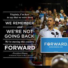Forward Virginia by Obama For America - Virginia, via Flickr
