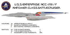 Enterprise NCC-1701/F Khitomer class by jbobroony