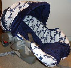 Dallas Cowboys Car Seat Cover. $50.00, via Etsy.