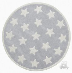 Grey, okrągły dywan- Kids Concept