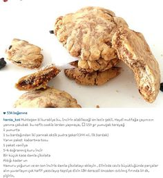 Alintidir muhtesem incirli kurabiye