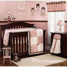 nursery+pink+and+brown