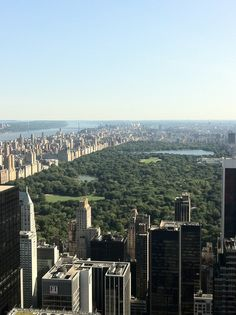 Top of the Rock, NYC. Can check this off the bucket list!