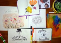 Del cuaderno a la calle Abril, Día 12 Florencia Desalvo http://algodemismundos.tumblr.com/