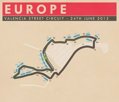 Valencia Street Circuit, Europe - #SMDriver #F1