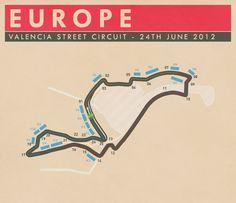 Valencia Street Circuit, Europe - #SMDriver #F1
