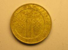 1 markka 1993, R109