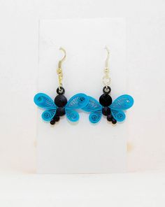 E009 - Quilling earring