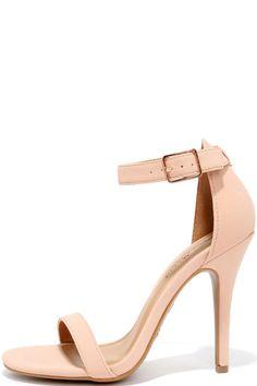 Image result for blush heels