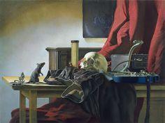 El diablo, la serpiente, y una vanitas Nicola Verlato, Still