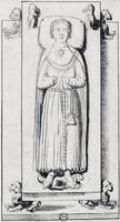 Jean de Préaux B (1210)        Beaulieu Priory, Rouen, Normandy, France