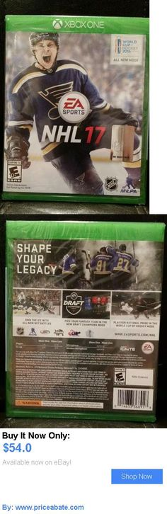 Video Gaming: Nhl 17 (Microsoft Xbox One, 2016) Brand New Sealed BUY IT NOW ONLY: $54.0 #priceabateVideoGaming OR #priceabate