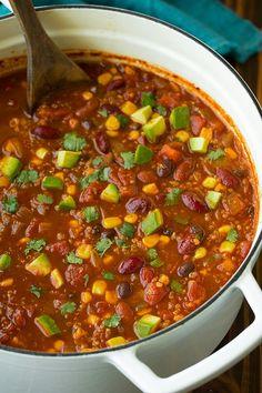 Quinoa Chili   Cooking Classy