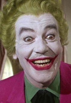 DC Comics in film - 1966 - Batman - Cesar Romero as The Joker Superman, Batman 1966, Im Batman, Batman Robin, Gotham Batman, Batman Art, Joker Actor, O Joker, Joker And Harley Quinn