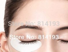 hot  2018 50 Pair Under Eye Pad mask Patch Lint Eyelash Lash Extension Tool Supply Medical Tape Crystal Eyelid Patch