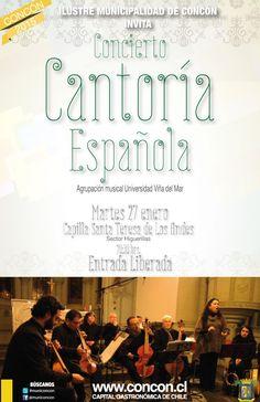 Cantoría Española UVM ofrecerá concierto didáctico en Concón