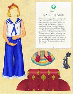 Miss Missy Paper Dolls: American Girl Kit