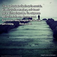 The Right Path : Quotes