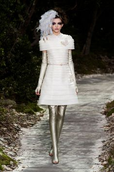 #Whiteout - #Chanel Spring/Summer 2013