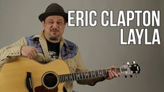 Eric Clapton Unplugged - Layla Guitar Lesson - Acoustic Blues - How to P...