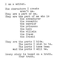 The truth of your novels