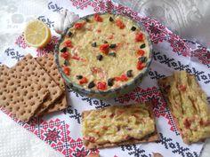 Salata de dovlecei cu ardei copt Pie, Desserts, Salads, Torte, Tailgate Desserts, Cake, Deserts, Fruit Cakes, Pies