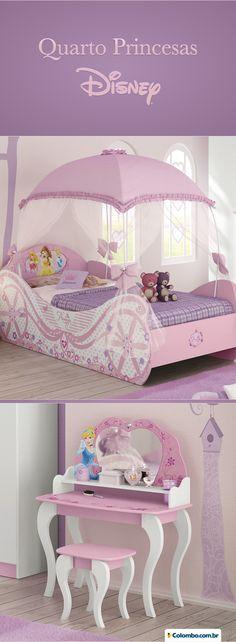 Princess Bedrooms, Pink Bedrooms, Princess Room, Girls Bedroom, Kids Beds For Boys, Kid Beds, Cute Bedroom Decor, Baby Room Decor, Kids Bed Design