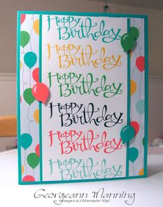 Sassy Salutations Cherry on Top Birthday Card ('Me' Time)