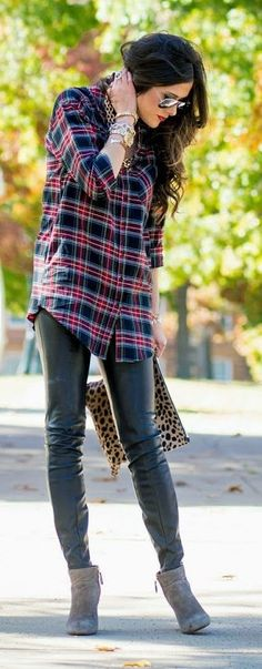 Black Multi Tartan Button Down by The Sweetest Thing