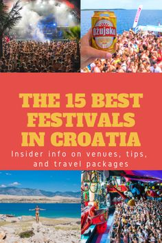 Take the advantage served by these kinds of traveling recommendations. Where To Go In Croatia In August. Croatia Travel Guide, World Travel Guide, Europe Travel Guide, Travel Tips, Italy Travel, Travel Guides, Music Festivals Europe, Festivals Around The World, European Festivals