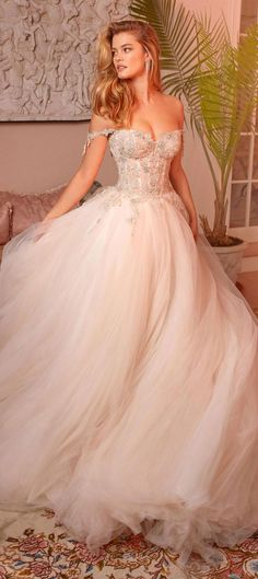 38367e5f753fc Galia Lahav Wedding Dresses - Queen of Hearts Bridal Collection , Dramatic  princess ballgown with an