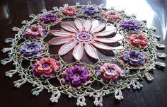 Crochet Doilies, Ravelry, Crochet Earrings, Rose, Garden, Flowers, Projects, Art, Log Projects