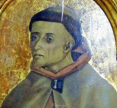Vittore Crivelli - Beato Angelo Clareno (pannello pentittico) - Capodarco di Fermo, chiesa di Santa Maria