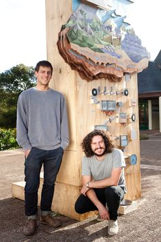 Soon after being shortlisted for an Icon award for best emerging design studio in the world, VISI caught up with Lyall Sprong and Marc Nicolson about their new Story of Water installation at Kirstenbosch. Exhibit Design, Design Museum, V&a Waterfront, Earth Hour, Interactive Display, Entrance Sign, V & A Museum, The V&a, Environmental Design