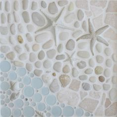 As the Tide Goes Out Mural  kitchen tile - like this!