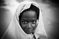 Young Hausa girl from Mirriah, South Niger