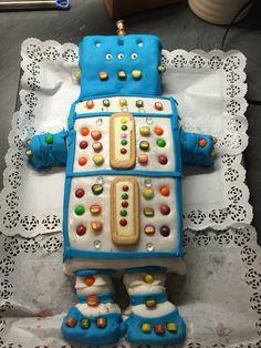 Roboterkuchen selbst gemacht..