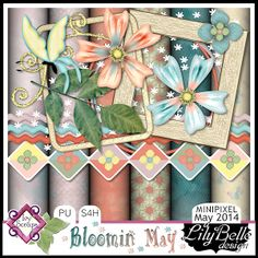 MAY14Minipixel-BLOOMIN'MAY by LilyBelle Designs