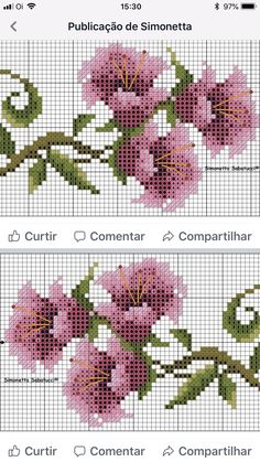Cross Stitch Heart, Cross Stitch Cards, Beaded Cross Stitch, Cross Stitch Borders, Cross Stitch Alphabet, Cross Stitch Flowers, Cross Stitch Designs, Cross Stitching, Cross Stitch Embroidery