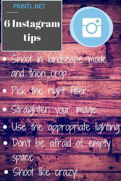 6 tips to improve your #Instagram photos #photography #phototips #photographer