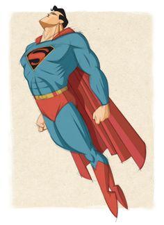 Superman by mgelen