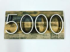 House Numbers & Address Signs - Modern Rustic Farmhouse by MadeWithBeerInHand Large Furniture, Furniture For You, Cool Furniture, Rustic Style, Modern Rustic, Rustic Decor, Rustic Home Interiors, Farmhouse Chic, Interior Design Living Room