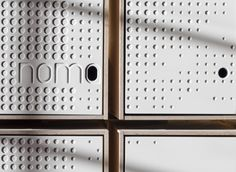 interior for NOMA Restaurant's food lab unites the creative worlds of gastronomy and architecture in a modern expression of the Nordic. Sign Design, Wall Design, Noma Restaurant, Mail Room, Space Copenhagen, Copenhagen Denmark, New Nordic, Interior Minimalista, Co Working