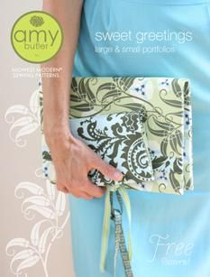 Amy Butler free patterns.   Over 20 projects for you to enjoy.