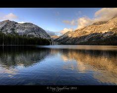 A beautiful sunset at Lake Tenaya. It is a  wonderful lake in CA between Yosemite and Mono Lake via the Tioga Pass. Simply gawjus.. No camera or lens can do justice to nature's beauty.. :) Jus sayin...