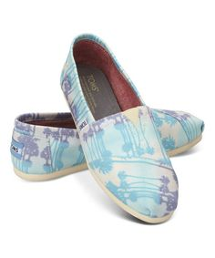Just bought these summery Toms...Not sure what I'm going to wear them with but they're so cute!
